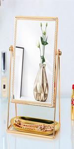f146698a8d27 Amazon.com - GLODEALS Makeup Vanity Mirror, Decorative Makeup Mirror ...