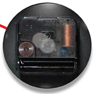 quartz movement battery accurate timekeeping wall clock