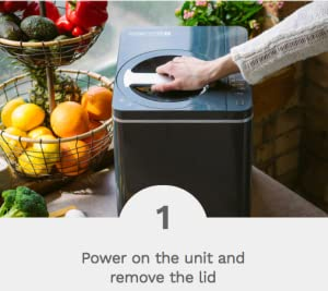 Food Cycler Platinum Indoor Food Recycler And Kitchen