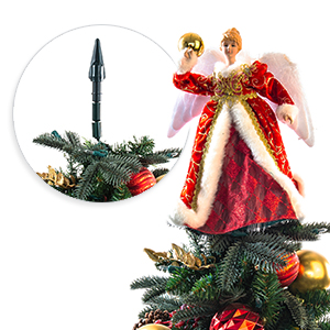 cone base tree toppers - Christmas Toppers