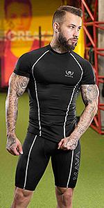 compression short leggings