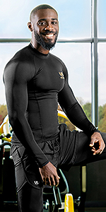 compression long tshirt