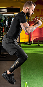 compression long leggings