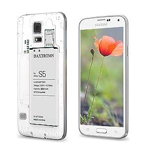 Amazon.com: DAXTROMN - Batería de repuesto para Samsung S5 ...