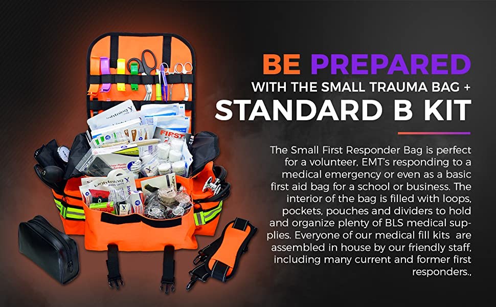 lightning x, lxmb20-skb, b kit, mb20, stocked trauma kit, emt kit, fill kit, supplies, first aid