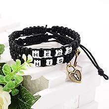 His Her Bracelet