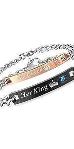 king queen bracelets