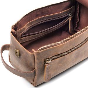 Amazon.com   Leather Toiletry Bag For Men - Stylish b2a49258835b6