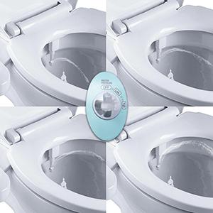 44ab1b84081f7 Homlex Bidet Cold Water Spray Non-Electric Mechanical Bidets Toilet  Attachment