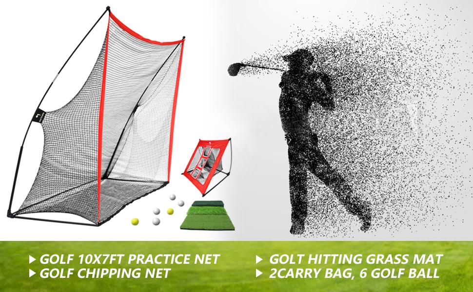 Golf chiiping net
