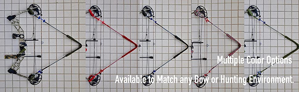 Multiple Color Options Available to Match any Bow or Hunting Environment.