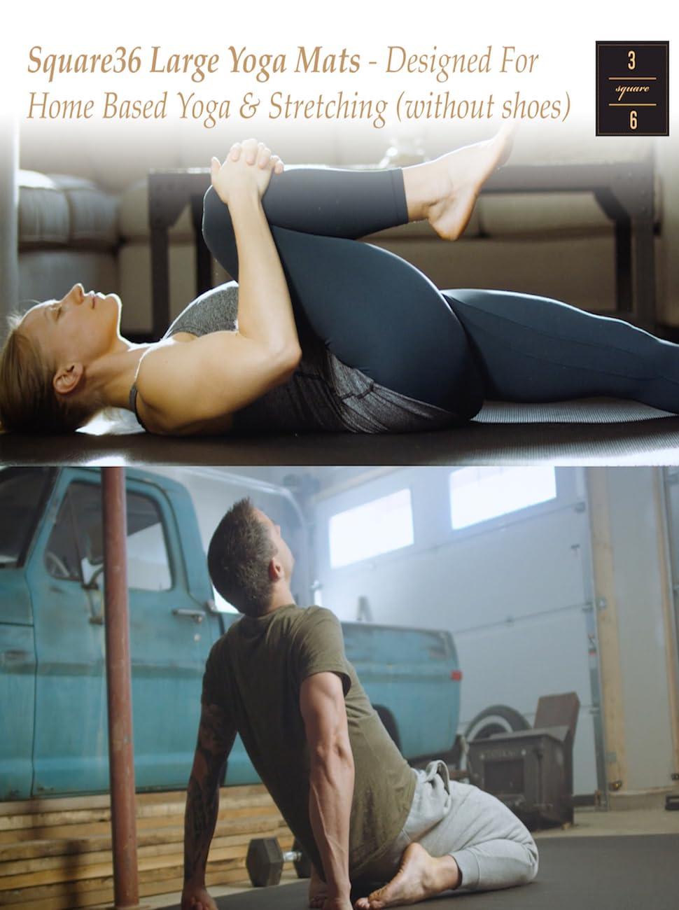 Square36 Large Yoga Mat