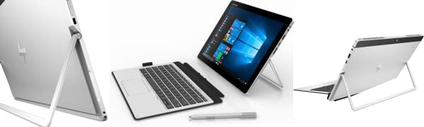 Premium Flagship 2018 360 degree Hinges Attachable Detachable Back View Front View Tablet