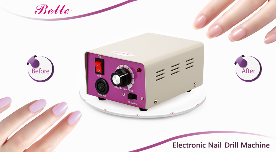 Amazon.com: Belle Electric Nail Drill Machine Professional Complete ...