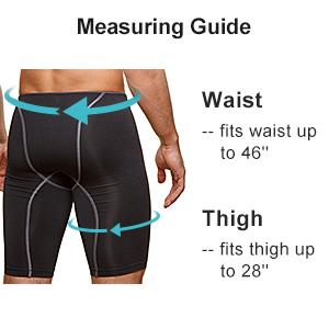 thigh brace size