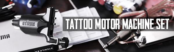 Professional rotary tattoo kit