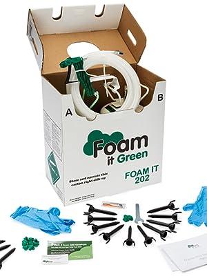 Foam It 202 Fire Retardant Spray Foam Insulation Kit 202