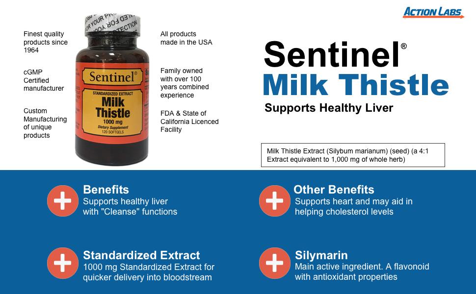 Sentinel Milk Thistle