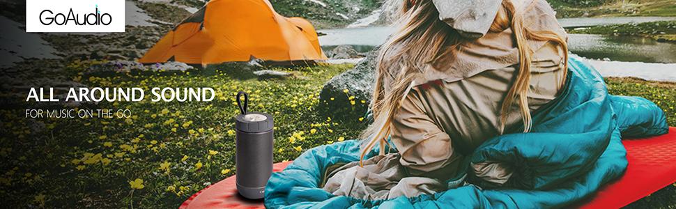 Amazon.com: COMISO Waterproof Bluetooth Speakers Outdoor ...