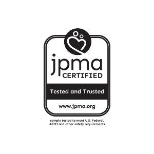 JPMA certified, highest, child, safety, standards