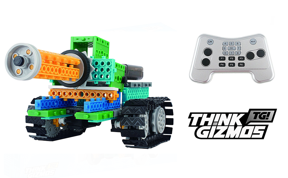 Popular Boy Toys Ages 6 And Up : Amazon.com: think gizmos build your own robot toys for kids