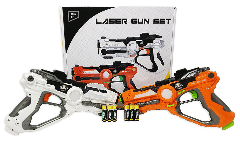Amazon Com Laser Gun Set For Kids And Adults Tg666