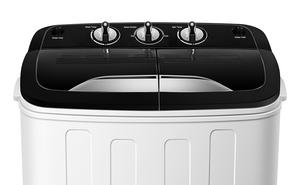 portable washing machine tg23 twin tub washer machine with wash and spin cycle. Black Bedroom Furniture Sets. Home Design Ideas