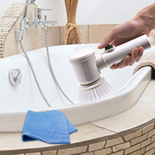 power scrubber brush for bathroom tiles bath-tubs wash basins magic brush cleaning brush scrubber