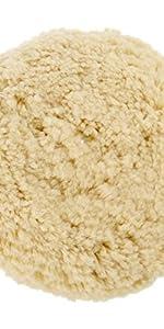 for Car Motorcycle Washing Machine Refrigerator Furniture Cabinets Pure Wool Compounding Pad Woolous 7//180mm Polishing Buffing Pad Buffer Polisher Sanding,Polishing
