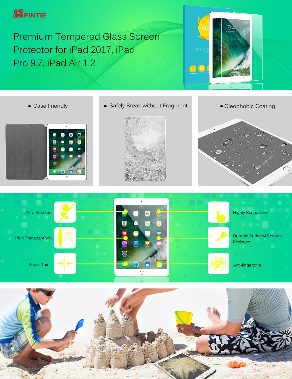 Surface pencil compatible tempered glass screen protector with 2 5d - Fintie A Quality Product Within Your Reach This Tempered Glass Anti Scratch Screen Protector
