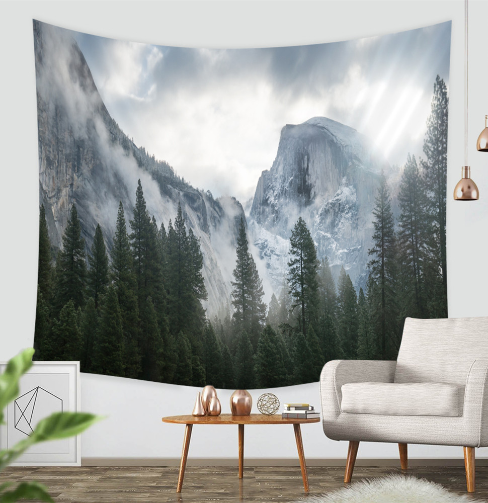 Amazon.com: ZBLX Tapestry, Forest Tapestry Wall Hanging Art Sets for ...