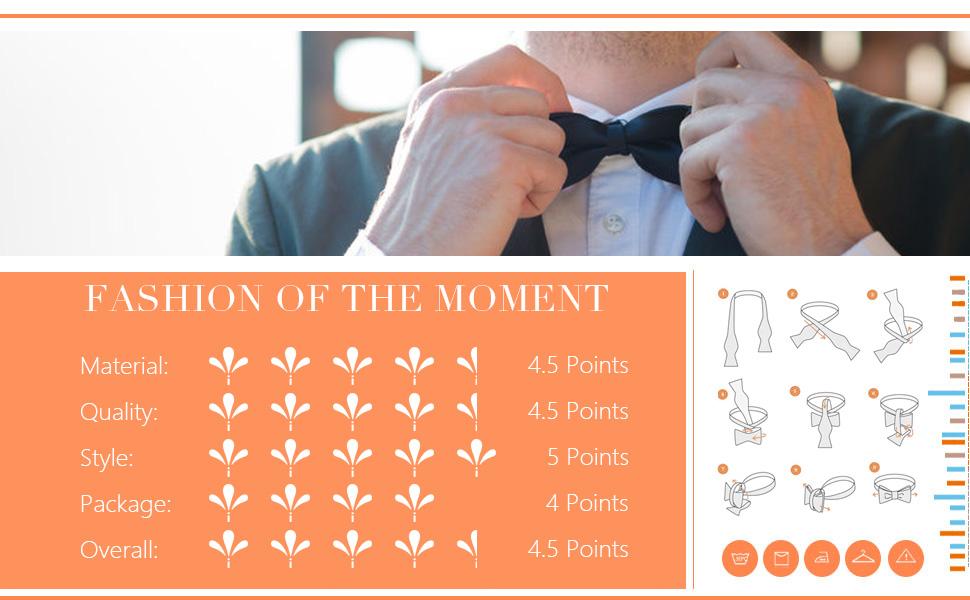 DBA7B31G Black Blue Tan Paisley Bow Tie Microfiber Best For Birthday Hand-model Bow Tie By Dan Smith