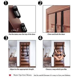 how to install a door sex swing
