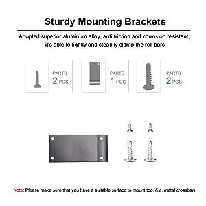 brackets &screws