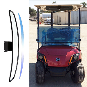 golf cart mirror