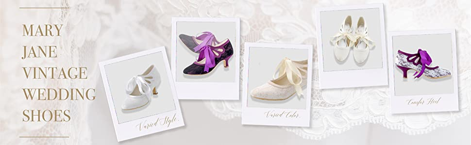comfort mary jane wedding shoes for bride lace bridal shoes