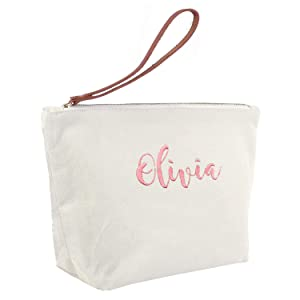 personalized cosmetic bag gifts for wedding