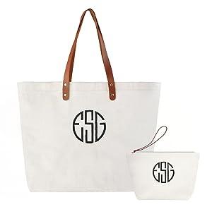 initial shoulder bag gift bag shoulder bag