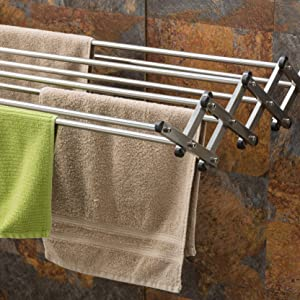 wall mounted clothes drying rack energy saver air dry collapsible laundry