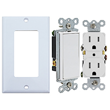 15 amp duplex receptacle
