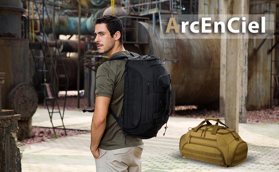 5153661ce7 Amazon.com  ArcEnCiel Men Gym Bag Backpack Rucksack Tactical ...