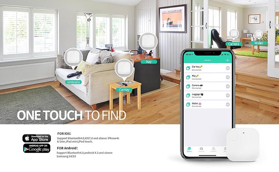 Amazon Com Macywell Key Finder Item Finder Phone Finder Bluetooth