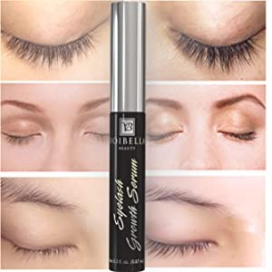 b581ac8d13f Amazon.com: Voibella Eyelash Growth Serum and Eyebrow Enhancer 8.87 ...