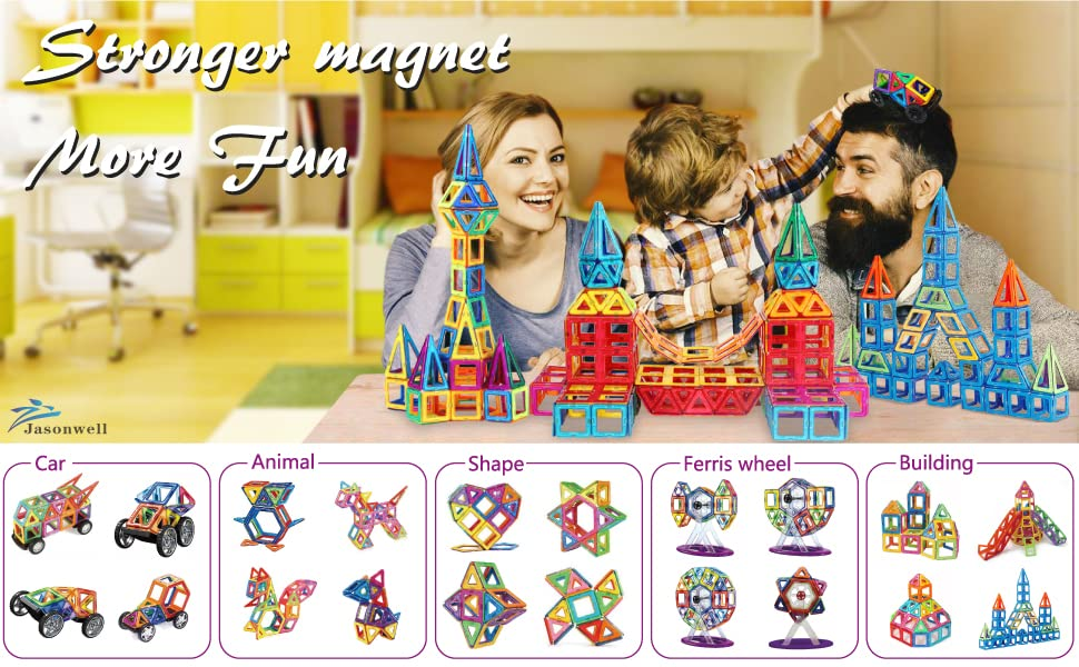 Magnetic blocks Magnet Blocks Toys