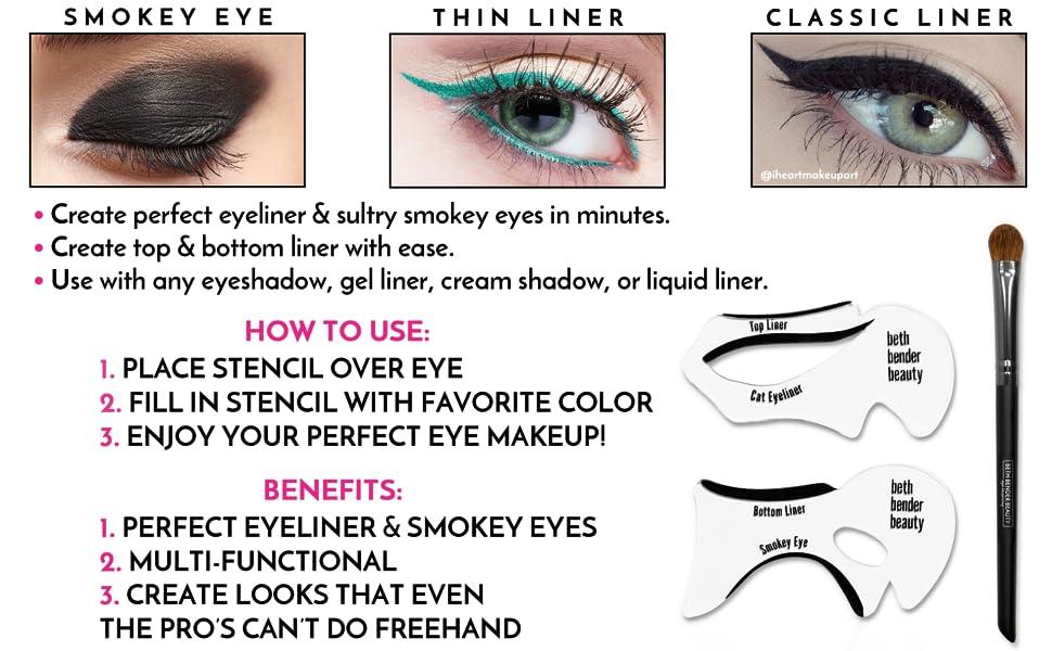 Amazon Beth Bender Beauty Original Cat Eyeliner Smokey Eye