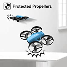 PROTECTED PROPELLERS