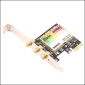 Amazon.com: Ubit - Tarjeta de red inalámbrica PCI-E, tarjeta ...