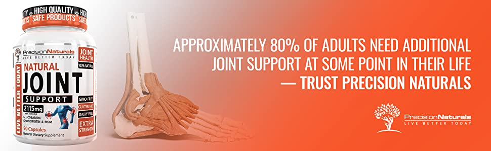 Approximately 80% of Adults Need Additional Joint Support at some point in their life – Trust PN