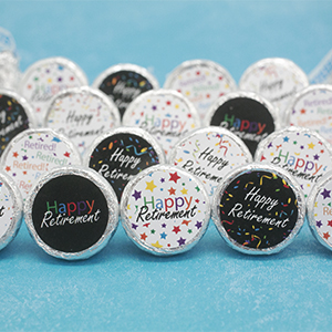 amazon com retirement party favor stickers 324 count health