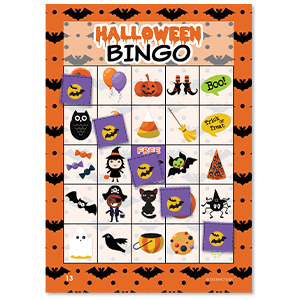 photograph about 25 Printable Halloween Bingo Cards named Halloween Bingo Sport for Small children - 24 Gamers